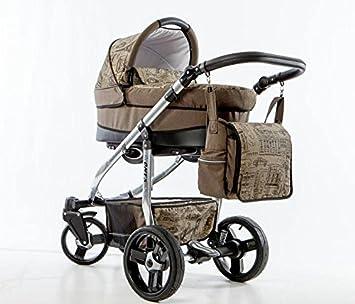 Carro bebe 3 piezas. Ultraligero - aluminio. City Urban style. Diseño ONYX: Amazon.es: Bebé