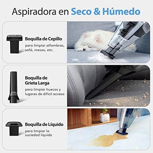 YIFUSUO Aspirateur à Main, des filtres sous Vide 7 Voiture aspirateur Kpa Rechargeable Tableau 2 Forte de Maison, Automobile, liquides et secs