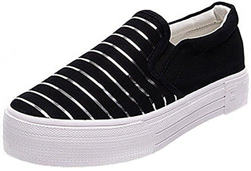 Women's Shoes Black Laruise Women's Shoes Black Laruise Striped Striped Laruise Striped Women's Black Shoes a5xpp81qw