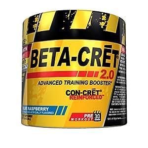 Promera Health Con-Cret Beta Cret 2.0 Advanced Taining Booster, Blue Raspberry, 6.88 Ounce