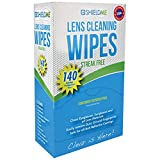 SHIELDME KLC6140, Lens Cleaning Wipes, 140-Count