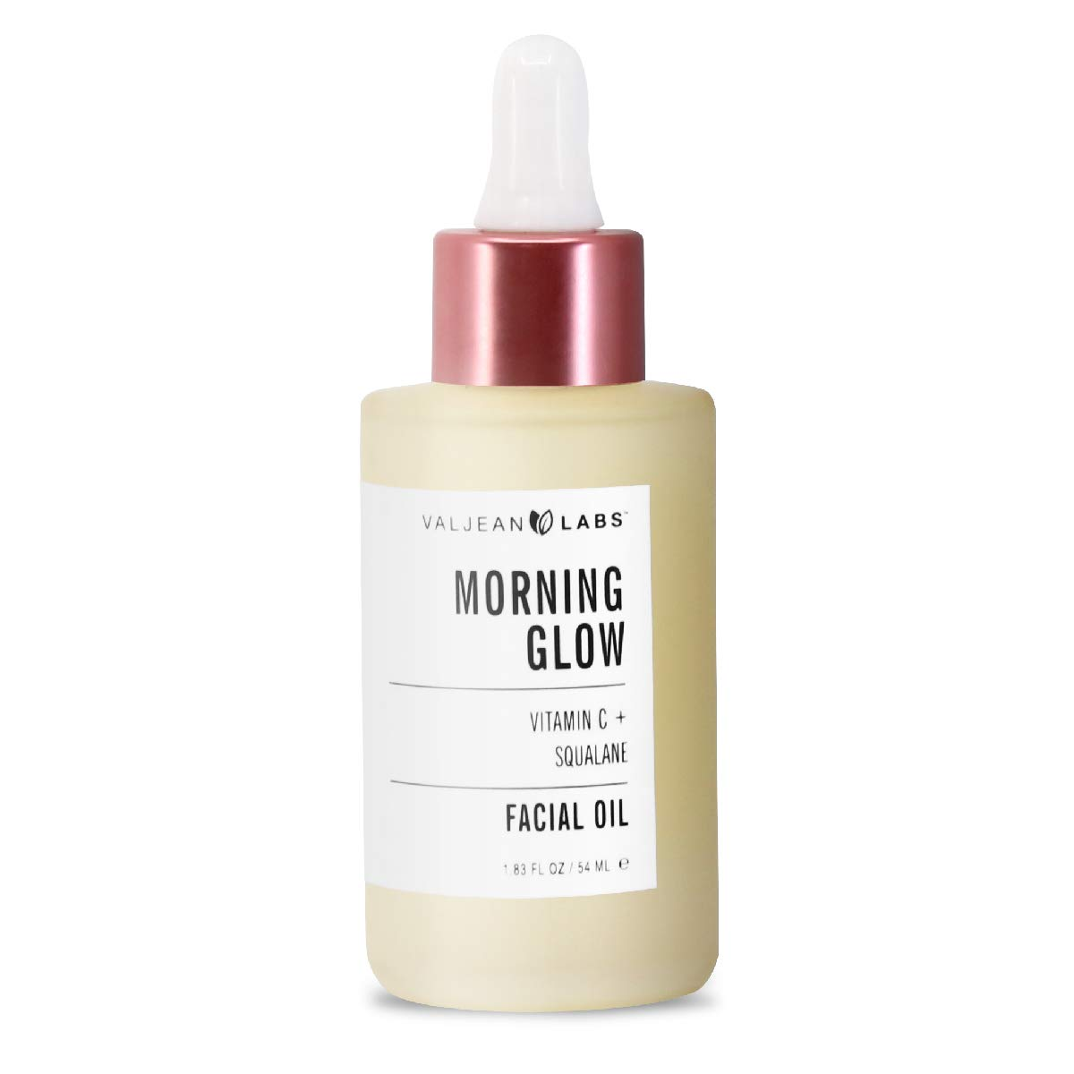 Valjean Labs Morning Glow, Vitamin C + Squalane Facial Oil