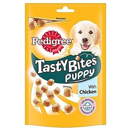 Pedigree Puppy Tasty Bites With Chicken 125g Pack Of 2 Pet