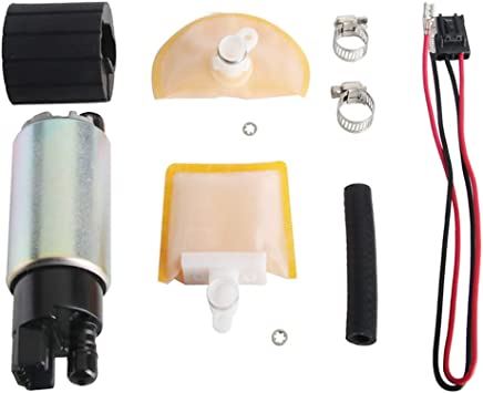 [TBQL_4184]  Amazon.com: MUCO New 255LPH High Flow Intank Electric Fuel Pump with  Strainer/Filter + Rubber Gasket/Hose + Stainless Steel Clamps + Universal  Connector Wiring Harness MCP-203A: Automotive | 94 Nissan Quest Fuel Filter |  | Amazon.com