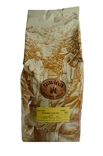 Gavina Hawaiian Hazelnut Whole Bean Coffee (1) 5 lb Bag #168