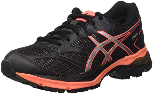 Black G TX Gel Femme Pulse Coral de 8 Noir Chaussures Flash Running Asics Silver tvIxqx
