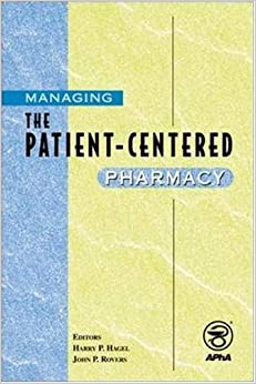 Book Managing the Patient-Centered Pharmacy