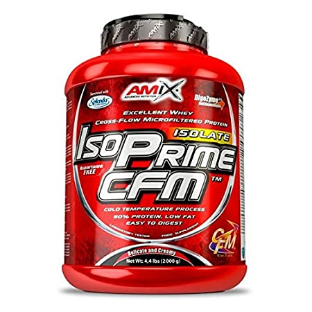 AMIX Isoprime CFM Isolate - 2 Kg Doble Chocolate blanco: Amazon.es: Salud y cuidado personal