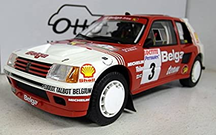 Otto Mobile – ot647 – Peugeot 205 T16 – Rally Ypres 1985 – Escala 1/