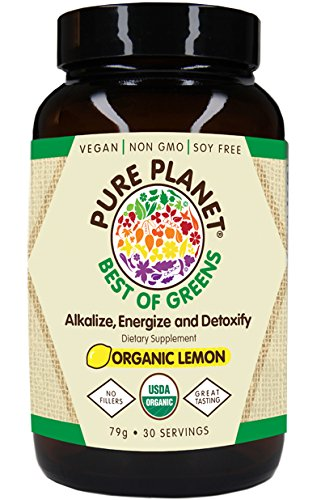 PURE PLANET Organic Best of Greens Lemon, 79 ()