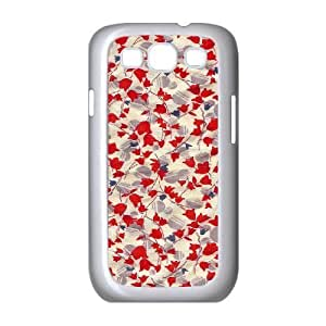 Retro Floral Flower ZLB535783 Customized Phone Case for Samsung Galaxy S3 I9300, Samsung Galaxy S3 I9300 Case