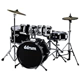ddrum D1 JR Complete 5-piece Drum Set, Black