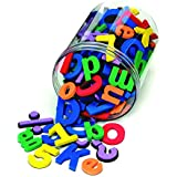Wonderfoam Magnetic Letters and Numbers, 110-Piece Pack (AC4357)