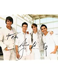 Big Time Rush full group reprint signed photo #1 RP Nickelodeon