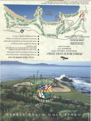 Tom Kite Autographed Signed Auto Pebble Beach Golf Links U.S. Open Scorecard - Certified Authentic ()