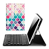 Fintie iPad Mini 1 2 3 Keyboard Case - Blade X1 Slim Shell Lightweight Cover with Magnetically Detachable Wireless Bluetooth Keyboard for Apple iPad Mini 3 iPad Mini 2 iPad Mini 1 - Moroccan Love
