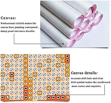 Yolada Diamant Malerei Bohren Voll Neue D3981 5D Diamond Painting Stickerei Tier L/öwen Kreuzstich DIY Pferd Strass Wohnkultur Runder Bohrer,30X40cm