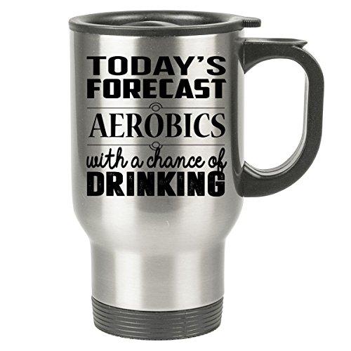 80s Costumes Aerobics (AEROBICS Travel Mug - AEROBICS Gifts - Stainless Steel Travel Mug, Coffee Cup)