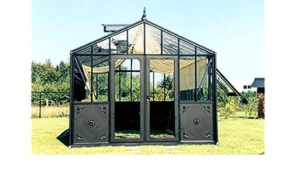 Exaco Trading Retro Royal Victorian Vi 46 - Invernadero con Paneles Decorativos y Cristal Estrecho: Amazon.es: Jardín