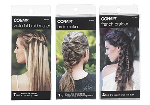 Conair Hair Braid Tool Bundle