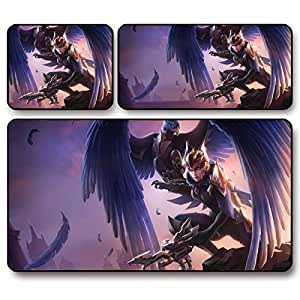 GW Demacian Wings Quinn LOL League super thick mouse pad , 30 * 25 * 0.3 cm