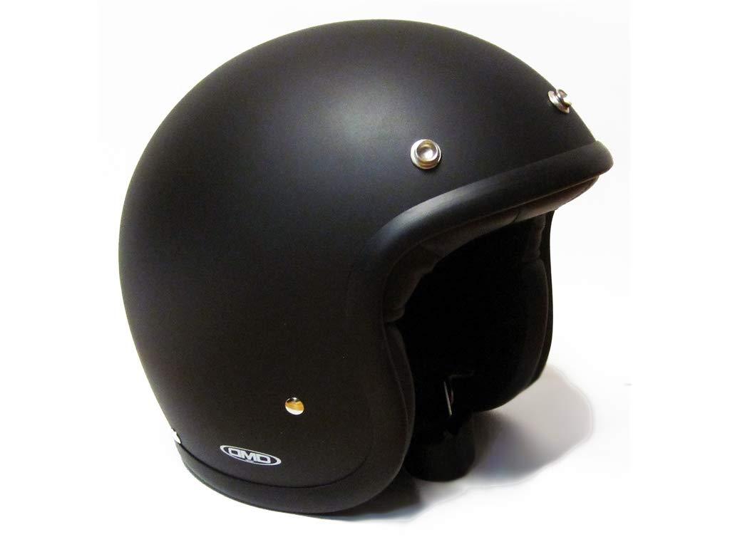 Schwarz matt DMD 1jts30000mb03/Motorradhelm M