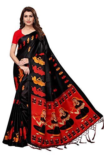 ANNI-DESIGNER-Khadi-Silk-With-Blouse-Piece-Saree