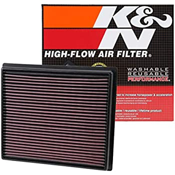 Amazon.com: K&N engine air filter, washable and reusable ...