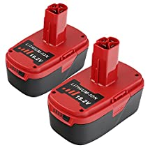 efluky 2Pack 19.2V 4.0Ah High Capacity Replacement Lithium Ion Battery for Craftsman 315.115410,11376,130279003,130279005,1323903,1323517,315.114480,315.114852,315.101540,C3 11375,15.11448