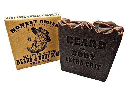 Amish Bar - Honest Amish Beard and Body Soap (Extra Grit)