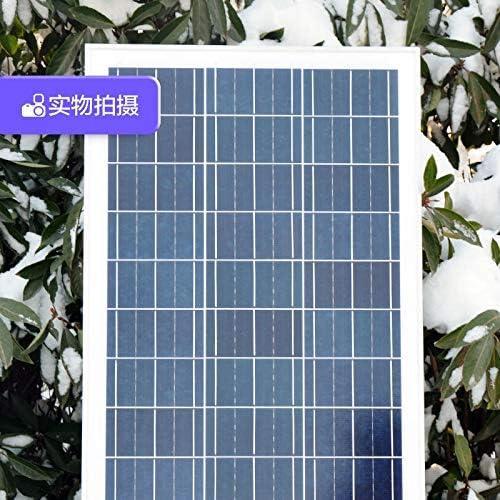 Z.L.FFLZ Mini Solar-Panel 100W Watt Solarpaneel Polykristallinem Solarpaneel 12V Stromhaushalts Photovoltaische Stromerzeugung Systemplatine