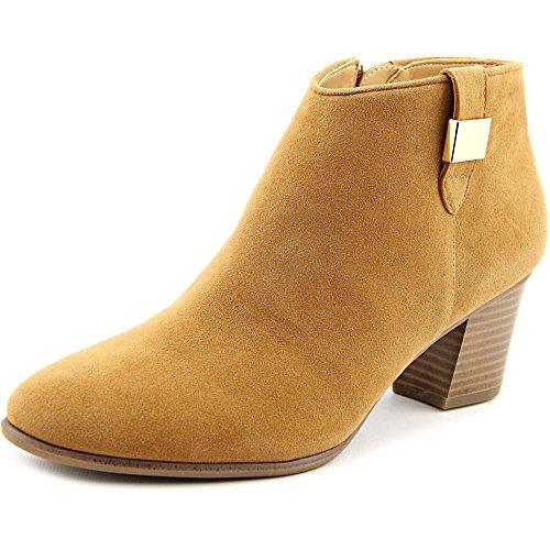 Alfani Womens Leoh Almond Toe Ankle Fashion Boots, Cognac, Size 9.5 from Alfani