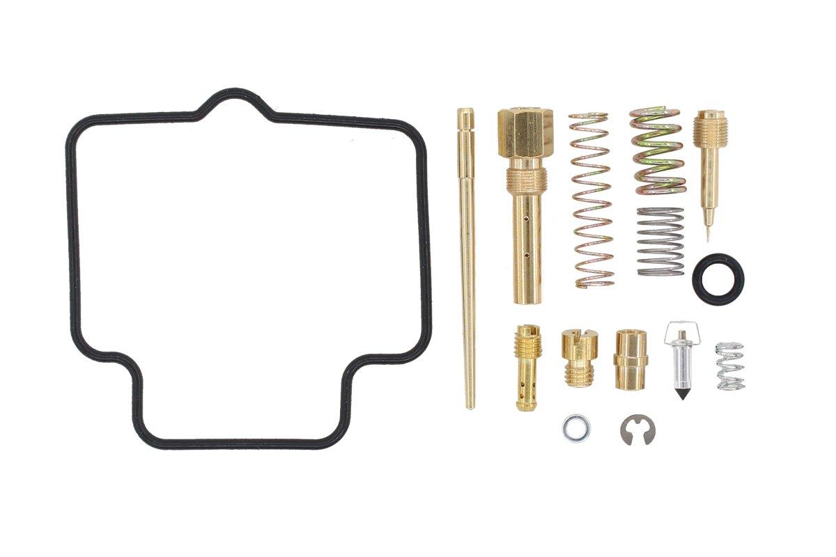 Carburetor Rebuild Carb Repair Kit for Suzuki Ozark 250 LTF250 2x4 ATV 2002-2009 2012 LTF 250 MOTOKU