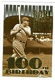 Babe Ruth Baseball card (New York Yankees) 1995 Topps #3 100th Birthday Celebration