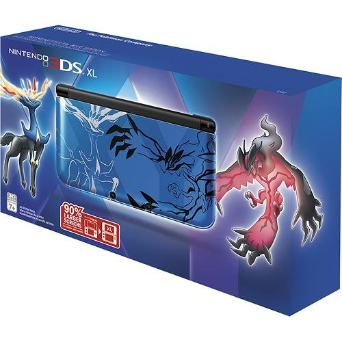 Nintendo Pokemon X & Y Limited Edition 3 DS XL (Blue) (3ds X Y Pokemon New Nintendo)