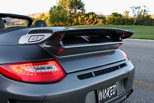 Amazon.com: New Porsche 997.2 GT3 Rear Trunk & Wing for 997 Cabriolet Convertibles: Automotive