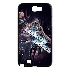 C-EUR Diy Phone Case LeBron James Pattern Hard Case For Samsung Galaxy Note 2 N7100