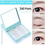 Best Eyelid Tapes - 480Pcs Ultra Invisible Fiber One Side Eyelid Tapes Review