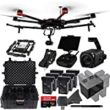 DJI Zenmuse Z30 Gimbal + DJI Matrice 600 Pro Hexacopter Bundle: Includes Zenmuse Z30 Gimbal with 30x Optical Zoom, 6 TB47S Battery Packs, Hex Charger and more...