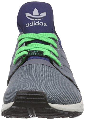 adidas ZX Flux NPS UPDT - Zapatillas para hombre Gris / Azul