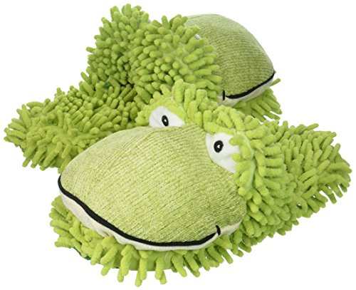 Aroma Home Aromahome Animal Fuzzy Friends Warm Womens Slippers Frog (Fuzzy Frog Slippers)