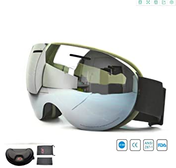 DUBAOBAO Gafas De Esquí De Color Polarizado Gafas De Esquí, Gafas De Alpinismo Al Aire