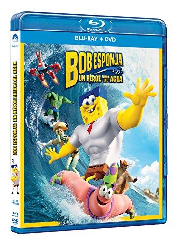 Bob Esponja: Un Héroe Fuera del Agua [Blu-ray]