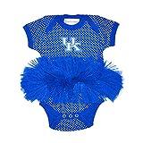 Kentucky Wildcats Polka Dot Newborn Infant Tutu Creeper Bodysuit (12 Months)