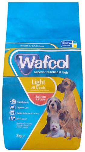 Wafcol Light Salmon And Potato For Adult 3 Kg
