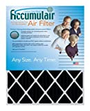 Accumulair 14x28x1 (Actual Size) Activated Charcoal Odor Eliminating Air Filters (4 pack)