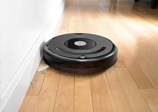 Compatible iRobot Roomba - Robot Aspirador Irobot Roomba 676 Negro ...
