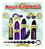 Pipedream Products Royal Rabbit Kit, Purple and Silver