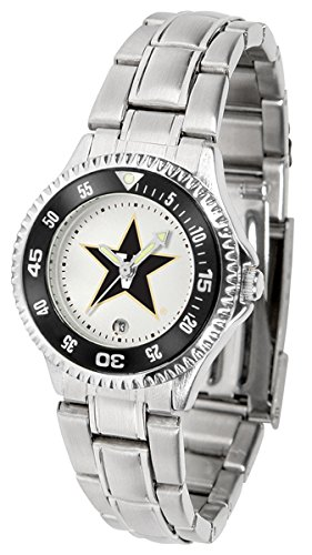 Linkswalker Ladies Vanderbilt Commodores Competitor Ladies Steel Watch