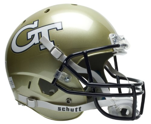 GEORGIA TECH YELLOW JACKETS Schutt AiR XP REPLICA Football Helmet
